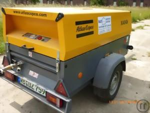 Baukompressor Atlas Copco Airpower 10 Bar