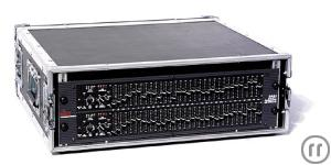 EQUALIZER dbx , 2 x 31 Band, HP + TP + Summenkompressor.