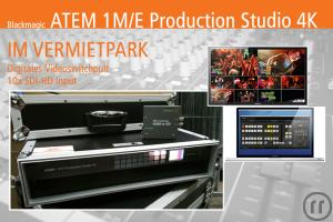 ATEM 1 M/E Production Studio 4K // Videomischpult