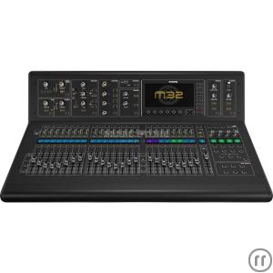 Midas M32 - Tonmischpult, 40-Kanal, IN 32x Mic, OUT 16x XLR