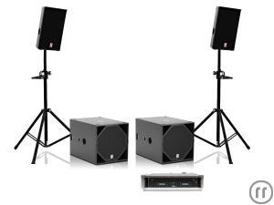 voice acoustic subsat 10 set pa 4kw 350 personen mieten. Black Bedroom Furniture Sets. Home Design Ideas