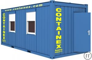 Raumcontainer Typ BM 20''/Container mieten