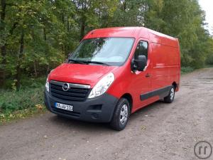 Opel Movano H2L2 mit Ladebordwand