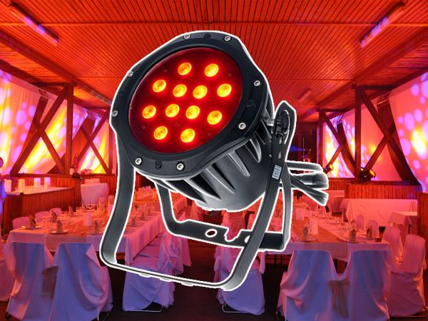 1-LED Scheinwerfer 12*4W Outdoor tauglich Floorspot