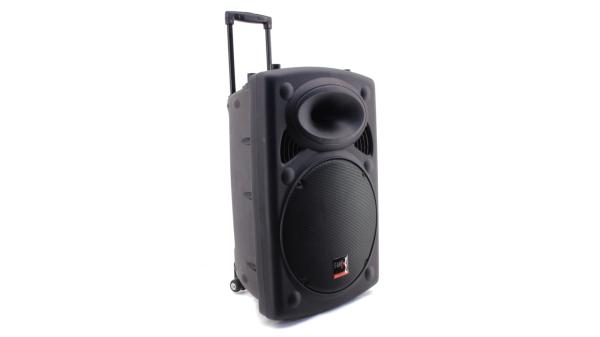 Profi PA Anlage Mobile Musikanlage Lautsprecher 250 Personen Sound Akku Party Mikrofon Bluetooth