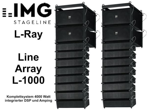 Lautsprecheranlage -Line Array L-1000 Set II