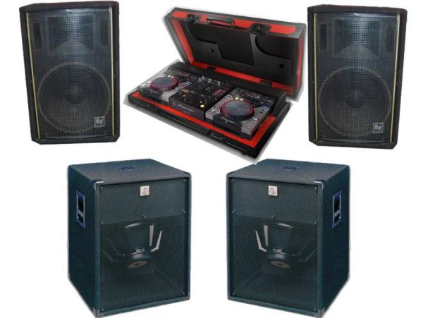 Lautsprecheranlage DJ Party Pack III - Komplettsystem