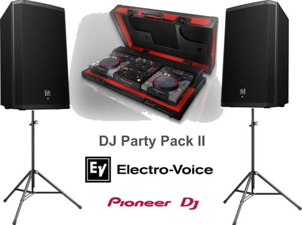 Tonanlage -DJ Party Pack II - Lautspecheranlage