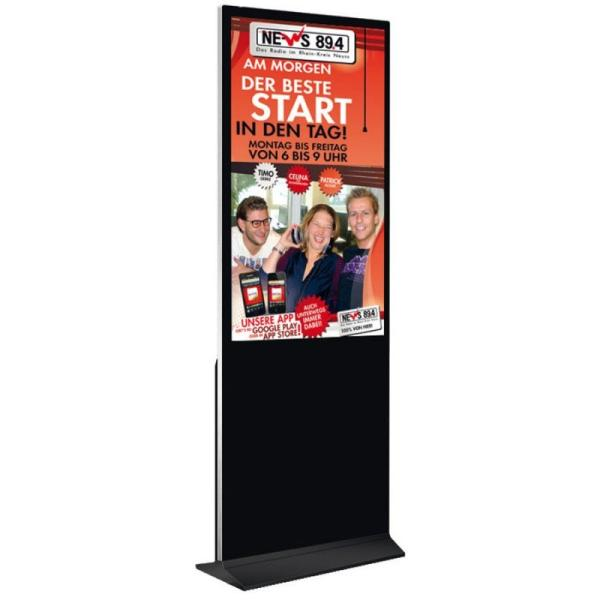 Digitale Info-Stele 55″ Super-Slim