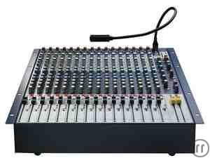Soundcraft GB2R 16- Kanal Live- Mischpult