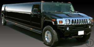 1-Black Stretch-Hummer H2