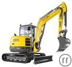 Minibagger Neuson 50Z3 5,0to 48,1PS 3,5m