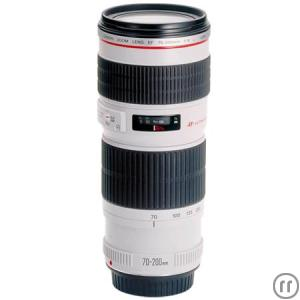 Canon EF 70-200 L IS Telezoomobjektiv - 70 mm - 200 mm - F/4.0