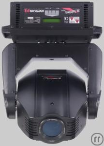 JB Lighting P3, Moving-Head, 250W HTI